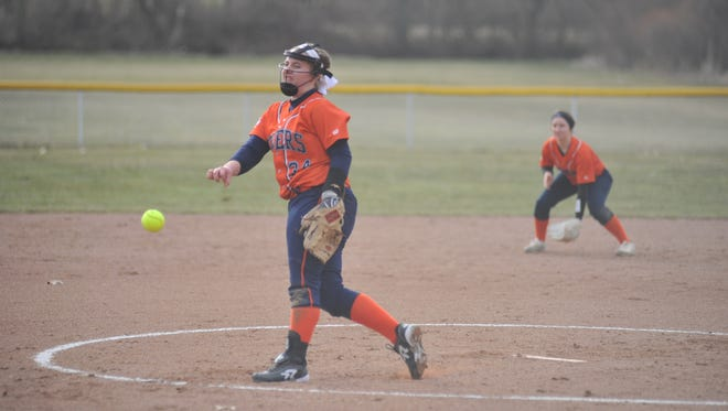 Madelyn Thomas opened the season with a no-hitter striking out five batters.