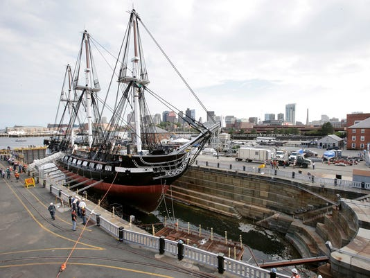 AP USS CONSTITUTION A USA MA
