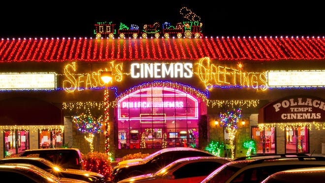 Valley entrepreneur Michael Pollack is celebrating his 13th show with more than half a million lights to be unveiled on Nov. 13 at the Pollack Tempe Cinema Shopping Center.