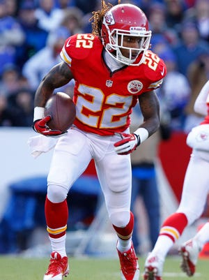 In 2011, Dexter McCluster (22) filled in for injured running back Jamaal Charles, and it was the last time he saw significant action at the position.