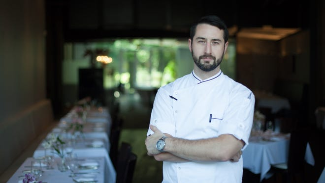 Elliot Cunniff, executive chef at Watermark.