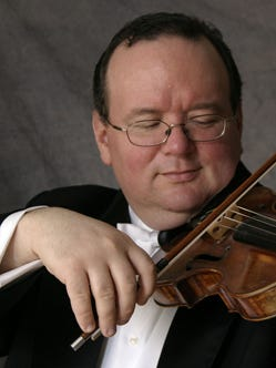 Violinist and NJ Symphony Orchestra Associate Concertmaster Brennan Sweet will perform in a Bach to Handel Recital at St. Paul's Episcopal Church in Westfield on Feb. 14.