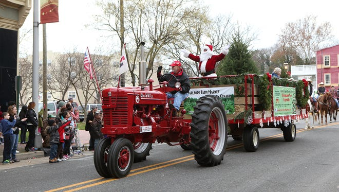 """The annual Bridgeton Holiday Parade is set for 3 p.m. Nov. 27. This year's theme is """"Winter Holidays Around the World."""""""