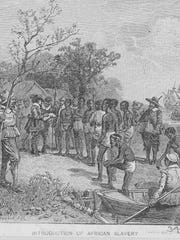 The quiet beginning of the slave trade in the United