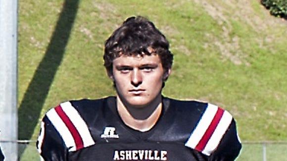 Asheville High senior Neal Hutchins.