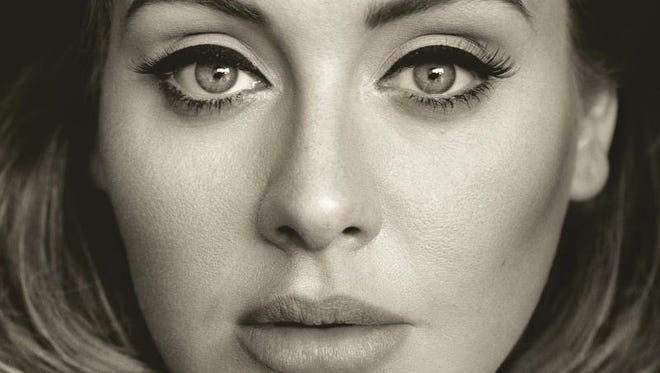 The cover of Adele's new album, '25.'