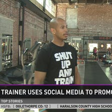 Trainer Ray Grayson has gathered more than 86,000 people in his Total Fit Challenge, an online fitness training program, providing free daily workouts and meal guidance.