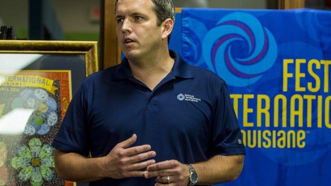 Scott Feehan has been named executive director of Festival International de Louisiane
