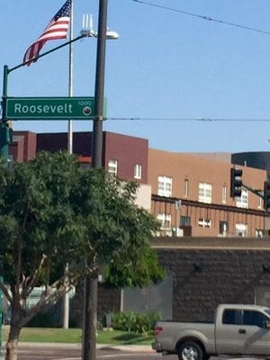 Roosevelt Street was the last street in downtown Phoenix named for an American president.
