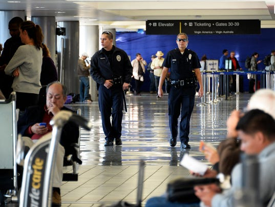 Your Say 1104 airport security