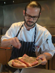 Chef Joe Pittman of Azure