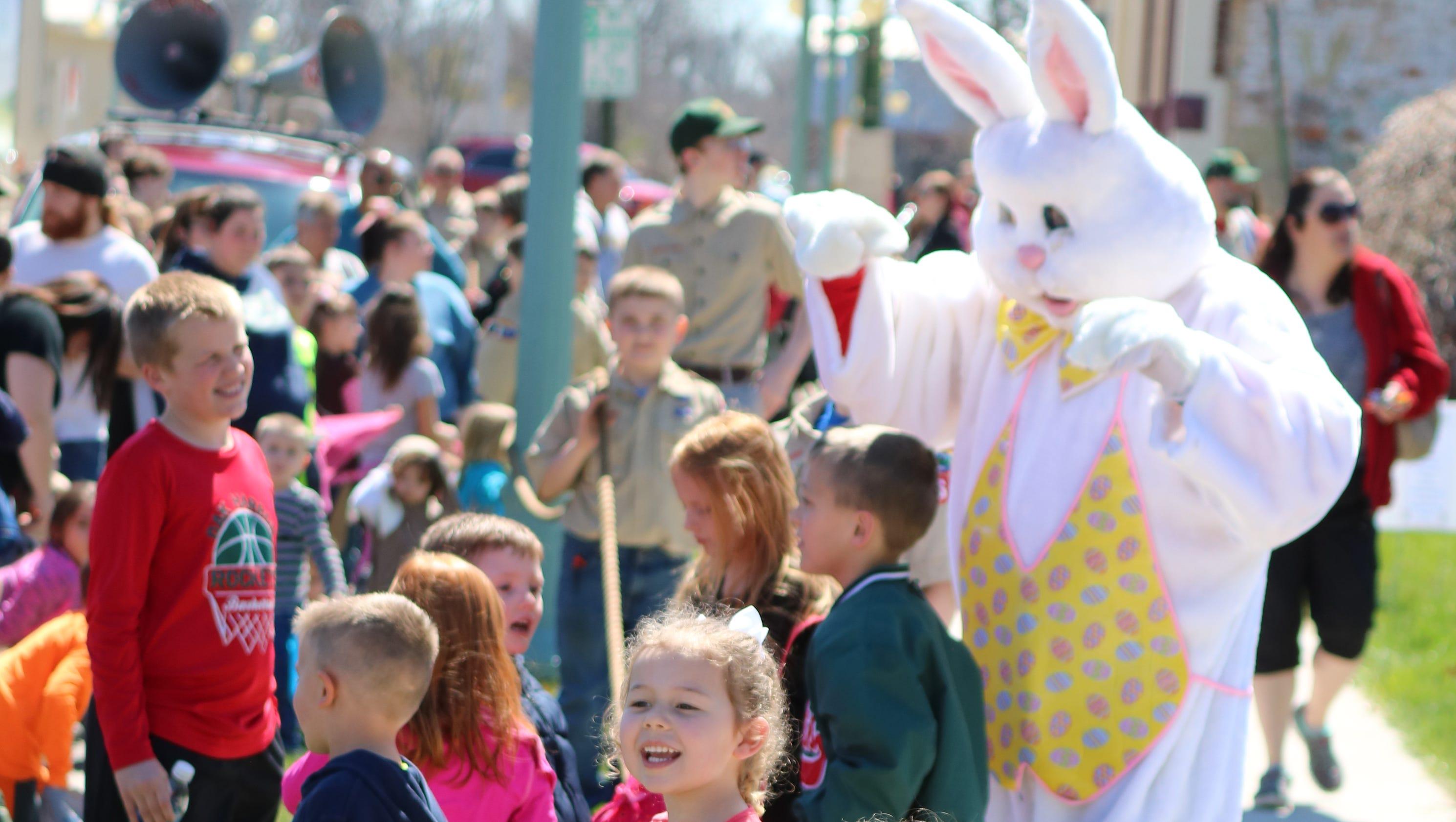 rooz Area kids to hustle at Easter Egg hunts image