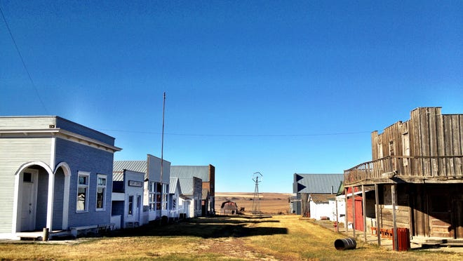 The Daniels County Museum & Pioneer Town in Scobey recreates a homesteading boom town.