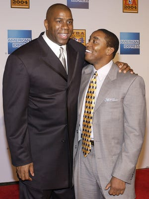 "Former NBA greats Earvin ""Magic"" Johnson and Isiah Thomas shared a long friendship that deteriorated at some point during their back-to-back showdowns in the NBA Finals in 1988 and 1989."