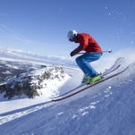 Getty ImagesSkiing requires strength in the core and lower body. Extreme Skier