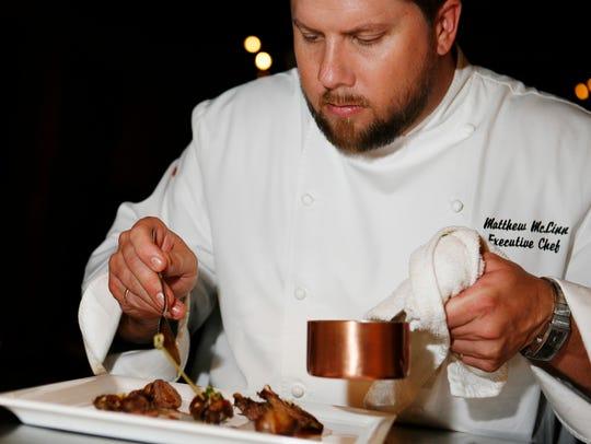 Dorian chef Matt McLinn.