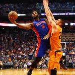 Never has Andre Drummond been a bigger factor than now, early in his fourth season. Through the first eight games, he was averaging 18.8 points and 19.3 rebounds.