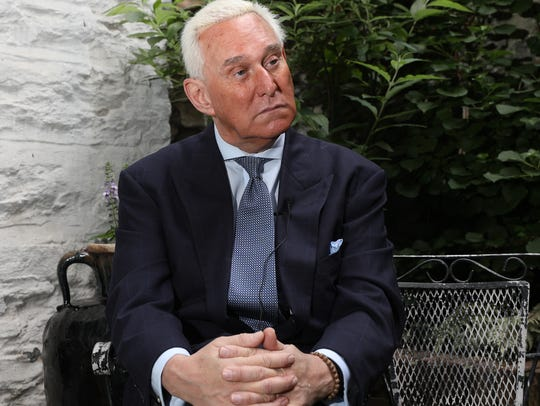 Roger Stone, the political trickster and 40 year friend