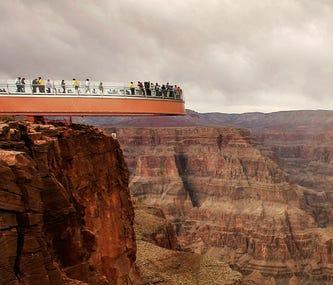 Grand Canyon Glass Bridge: Anything But Fragile