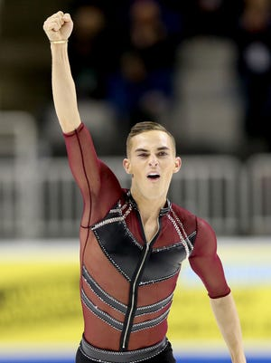 Adam Rippon is believed to be the first openly gay U.S. Winter Olympian.