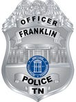 Franklin Police badge