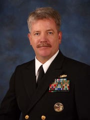 Retired U.S. Navy Commander Peter Marghella was the