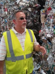 Members from three leading local groups, Big Bend Sierra Club, League of Women Voters and Sustainable Tallahassee, took a field trip to the Marpan Recycling facility.