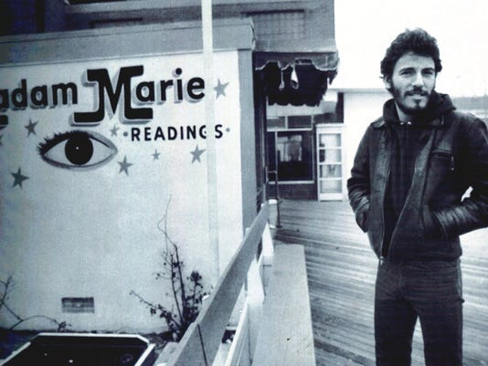 Bruce springsteen came to asbury park in 1973 to earn christmas money buy photo bruce springsteen m4hsunfo