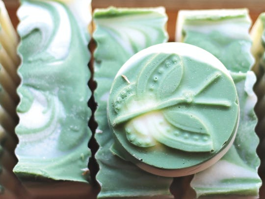 "JoAnne's ""Simply Soap"" comes in an array of sweet scents."
