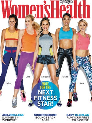 """Lexington fitness trainer Jana Hare is a finalist in Women's Health's """"Next Fitness Star"""" contest."""