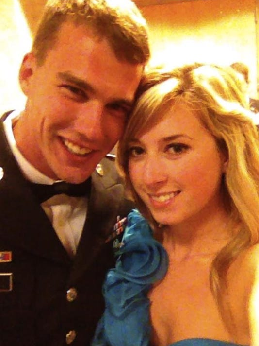 Married military: Soldiers often marry young, and for good
