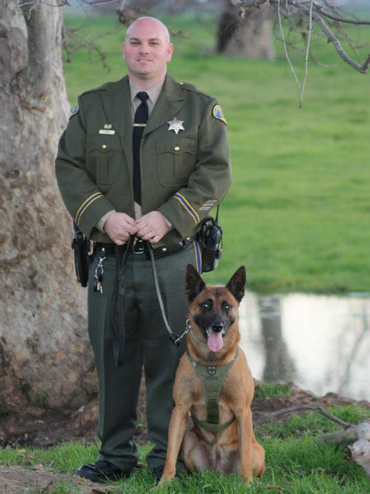 Retired Police Dog Passes Away - Dog passes owner returns 2 years