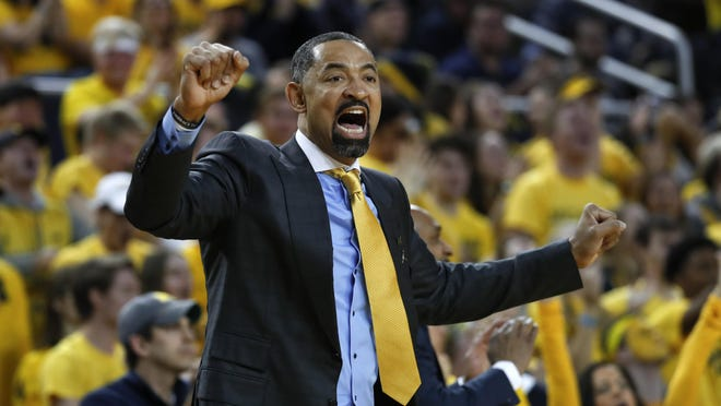Michigan men's basketball coach Juwan Howard had the No. 1 rated recuiting class, according to 247Sports.