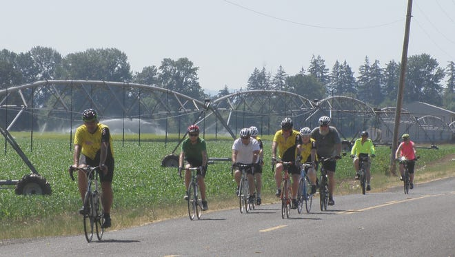 """The """"novice rides"""" offered by the Salem Bicycle Club aim to get less-experienced riders out on the road."""
