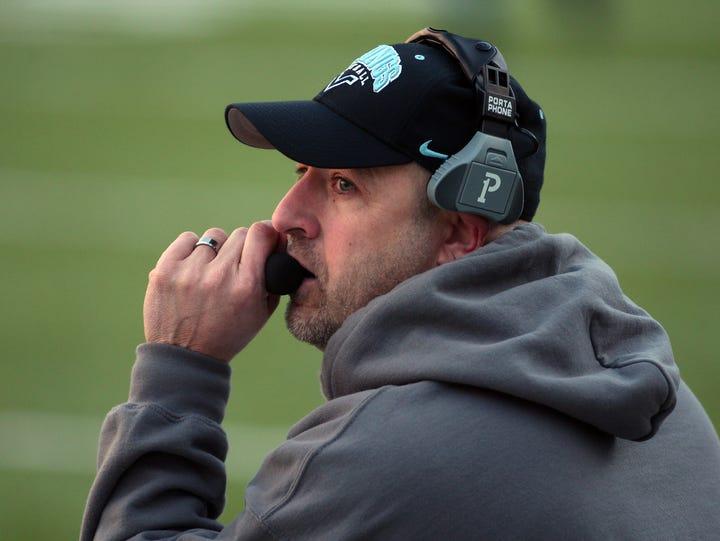 Parsippany Hills Head Coach Dave Albano vs. Cranford