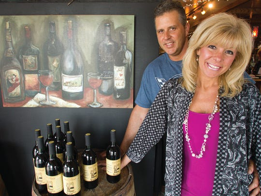 John and Sandy Vyletel run Mainstreet Winery and Mainstreet