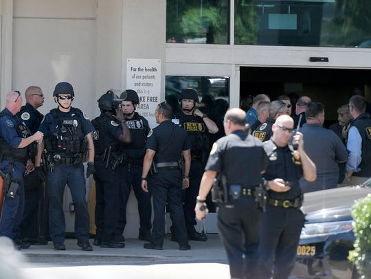Shooting outside Vanderbilt's 100 Oaks campus on Wednesday,