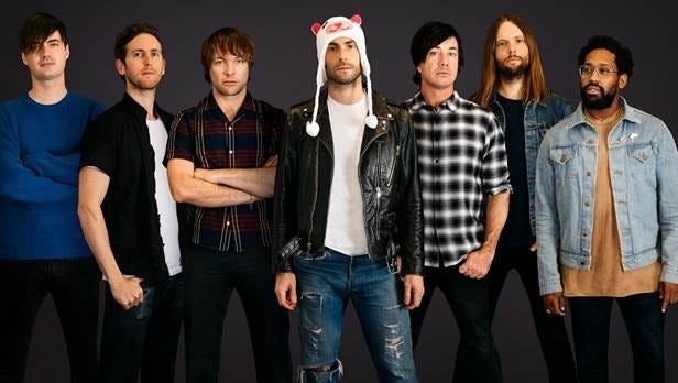 Maroon 5 will be performing in Louisville on Sept. 22, 2018.