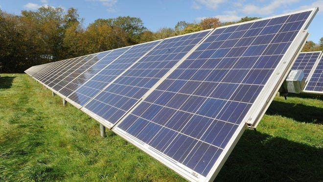 The Coalition for Community Solar Access said Plymouth and Bristol counties have the most projects at risk of being eliminated as a result of the new state regulations. In Plymouth County, 23 projects that total 107 megawatts are at risk, while Bristol County has 15 projects totaling 106 megawatts at risk.