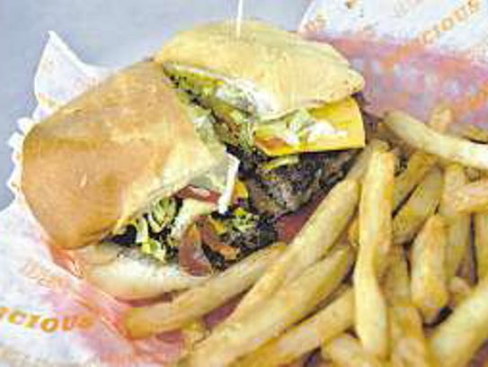 Papa and Co.'s Cajun Burger