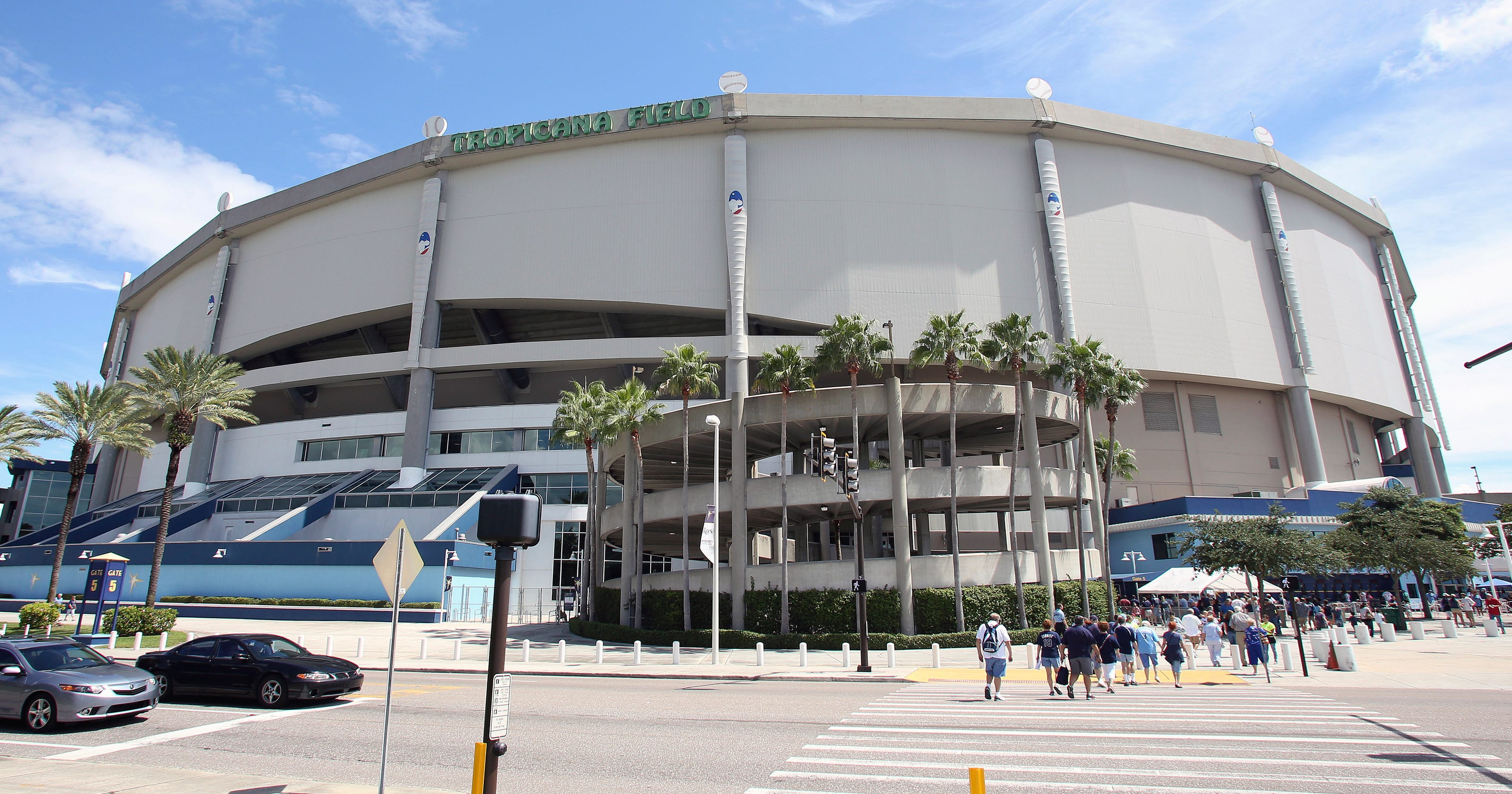 Tampa Bay Rays unveil plans for glass-domed Tropicana ...