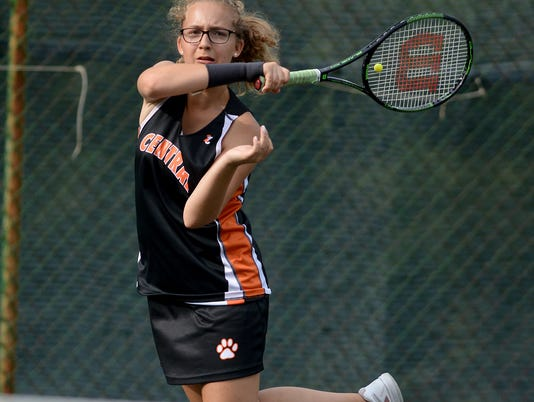 Central York vs Dallastown girls' tennis
