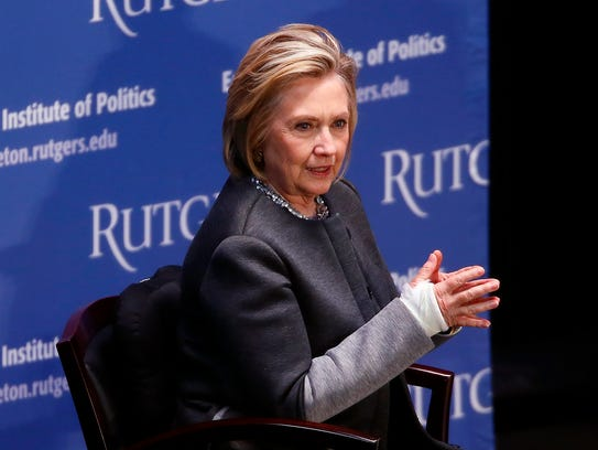 Hillary Clinton Talks to Ruth B. Mandel, Director,