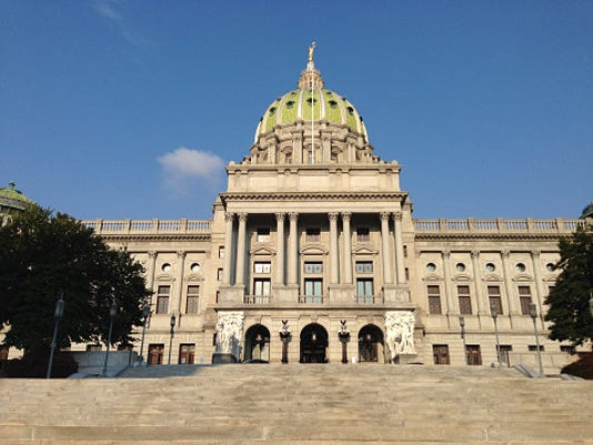 Pa Capitol Stock image