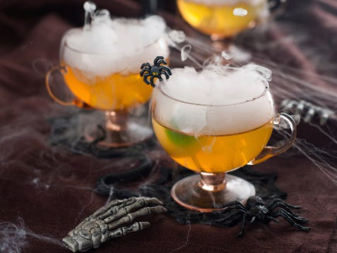 Looking for some creepy cocktails to serve your guests this Halloween? Check out our selection of spooky spirits!