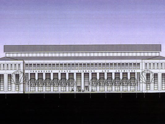 Proposed State Library