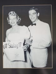 Rosemary Clooney, left, with her brother Nick Clooney.