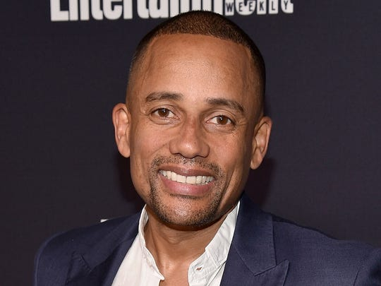 Hill Harper attends the Entertainment Weekly and PEOPLE Upfronts party on May 15, 2017 in New York City.