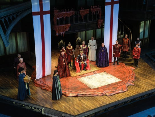 """""""King Henry V"""" is the first play to open in the Utah"""