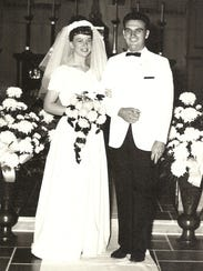 August 21, 1965, Shockley Wedding.